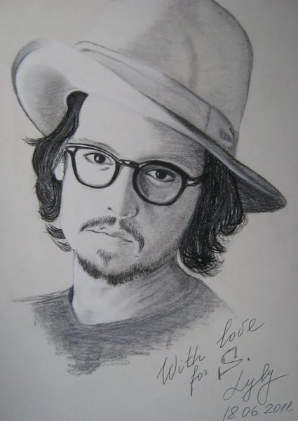 Johnny Depp by Lylysya
